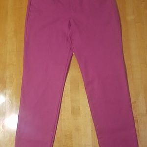 Old Navy Magenta Pixie Pants Size 2
